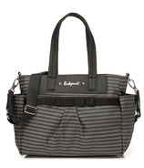 Babymel Cara Diaper Bag Grey Stripe
