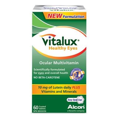 Vitalux Healthy Eyes Ocular Multivitamin