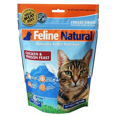 Feline Natural Freeze Dried Chicken and Venison