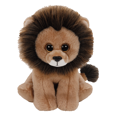Ty Louie The Lion Beanie Babies Regular