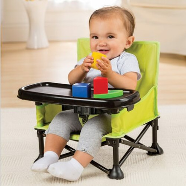 Summer Infant Pop n Sit Portable Booster Seat Lime
