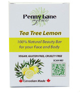 Penny Lane Organics 100% Natural Beauty Bar Tea Tree Lemon