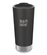 Klean Kanteen Vacuum Insulated Stainless Steel Tumbler Shale Black Matte