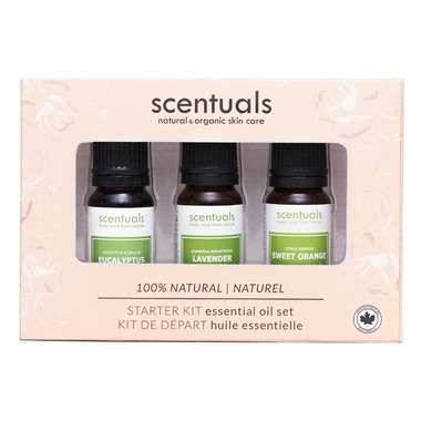 Scentuals Pure Essential Oil Gift Set Starter Kit Essential Oil Set