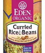 Eden Organic Canned Curried Rice & Beans