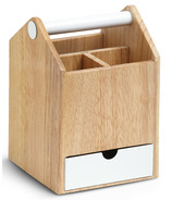 Umbra Toto Tall Box White/Natural