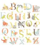 WallPops Alphabet Zoo Large Wall Art Kit