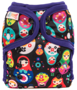 Bummis All-in-One Pure Diaper Russian Doll