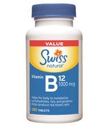 Swiss Natural Vitamin B12 Value Size
