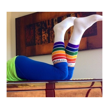Pride Socks YOLO Knee High Tube Socks