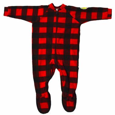 Snug As A Bug Kids Footed Onesie Canada Plaid