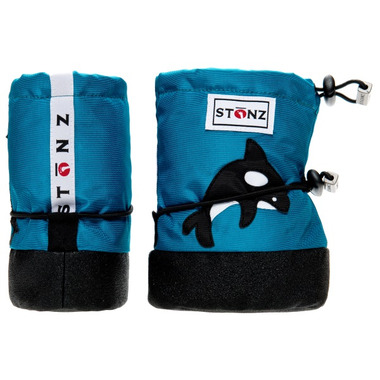 Stonz Teal Orca Infant Booties