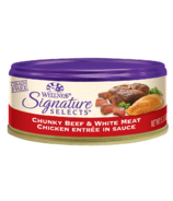 Wellness Signature Selects Chunky Beef & Chicken Wet Food CASE OF 24