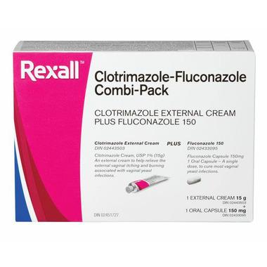 Rexall Clotrimazole-Fluconazole Combi Pack