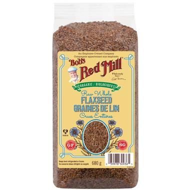 Bob\'s Red Mill Organic Whole Raw Flaxseed