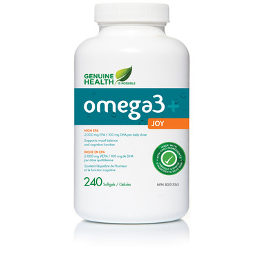 Genuine Health Omega3+ Joy
