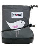 Stonz Grey Bird Toddler Booties