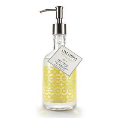 Caldrea Sea Salt Neroli Refillable Glass Hand Soap