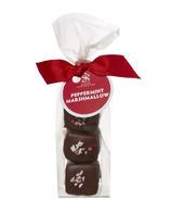 Saxon Chocolates Chocolate Enrobed Peppermint Marshmallow Bag