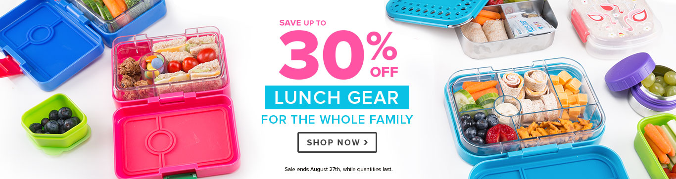 Save on Back to School Lunch Gear