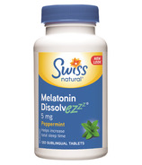 Swiss Natural Melatonin Dissolvezzz 5 mg