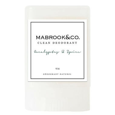 Mabrook & Co. Clean Deodorant Eucalyptus & Spice Travel Size