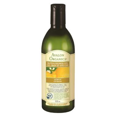 Avalon Organics Lemon Bath & Shower Gel