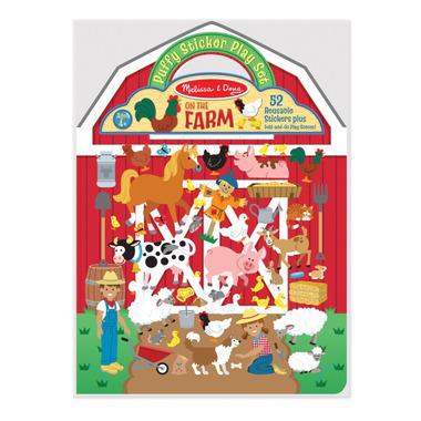 Melissa & Doug Puffy Sticker Play Set On the Farm