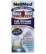 NeilMed NasaMist Full Stream Saline Spray