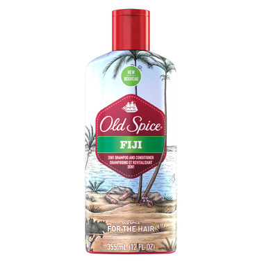 Old Spice Fiji 2-in-1 Shampoo and Conditioner