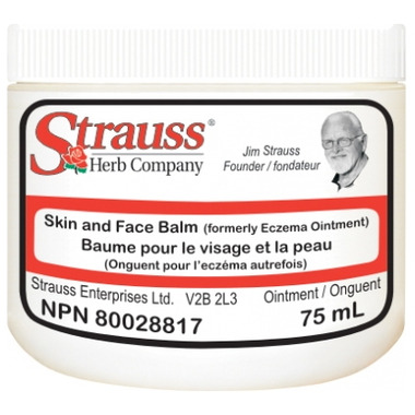 Strauss Herb Company Skin & Face Balm