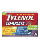 Tylenol Complete Cold, Cough & Flu Day + Night Caplets