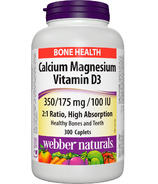 Webber Naturals Calcium Magnesium With Vitamin D