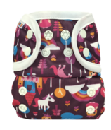 Bummis All-in-One Cloth Diaper Snap Fairy Tale