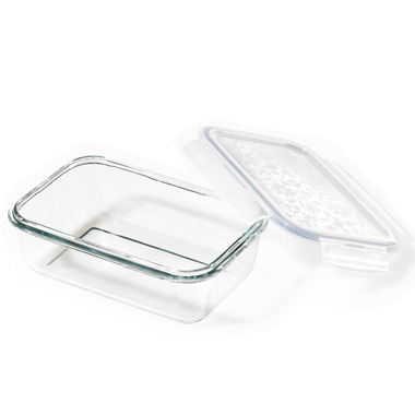 Lock & Lock Rectangular Glass Storage Container