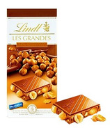 Lindt Les Grandes Hazelnut Milk Chocolate Bar