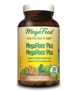 MegaFood MegaFlora Plus Probitotic Supplement