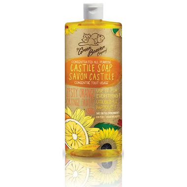 Green Beaver Sunflower Liquid Soap Zesty Orange