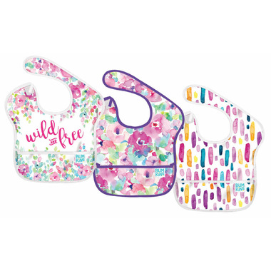Bumkins SuperBib Wild & Free and Watercolour Flower & Lines