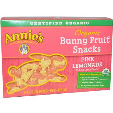 Annie\'s Homegrown Organic Bunny Fruit Snacks