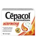 Cepacol Sensations Warming Lozenges