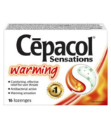 Cepacol Sensations Warming Lozenges