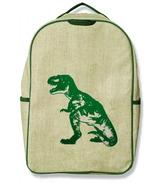 SoYoung Grade School Backpack Green Dinosaur