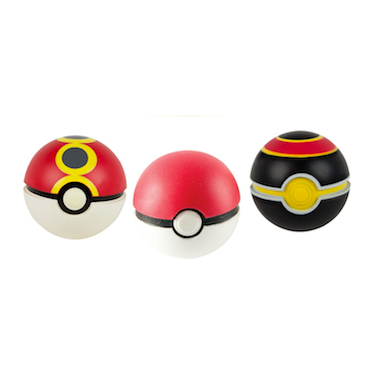 Throw \'n\' Catch Pokeballs 3-Pack
