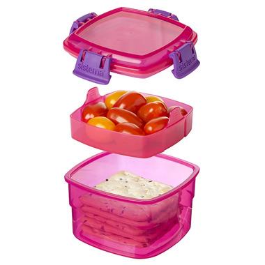 Sistema Snacks To Go Pink