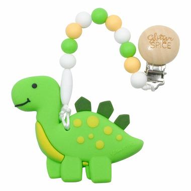 Glitter & Spice Dino Teether