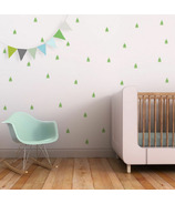 Trendy Peas Wall Decals Pine Trees Green