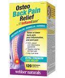 Webber Naturals Osteo Back Pain Relief with InflamEase
