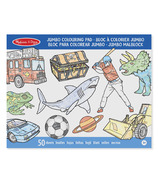 Melissa & Doug Jumbo Colouring Pad