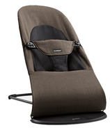 BabyBjorn Bouncer Balance Soft Organic Black & Brown